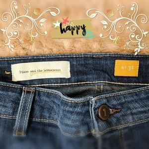 Pilcro & the Letterpress Flare Leg Jeans Sz 31